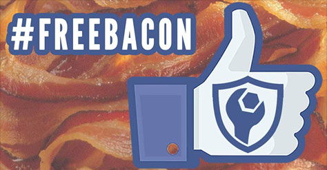 LIKE Armor's Facebook and Share the post to win BACON!